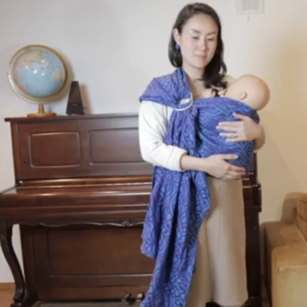 画像1: (終了しました)7月4日  妊娠中、新生児からのだっこに*はじめてのベビーウェアリングワークショップ